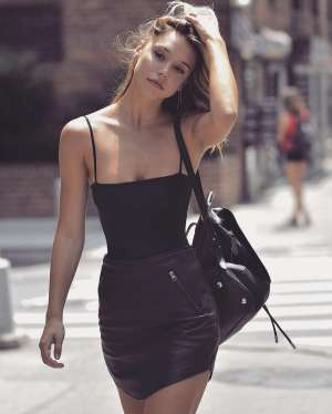 Badass leather clothes for women (094)   fashion