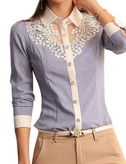 Blouse design idea and inspiration 047 fashion