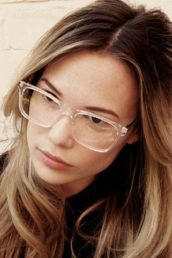 Clear Glasses Frame For Women's Fashion Ideas #Transparent #Eyeglass (04)