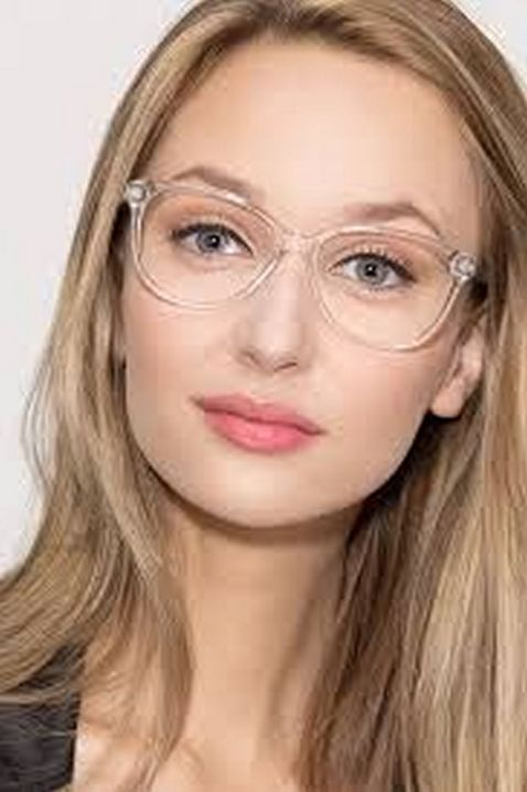 Clear Glasses Frame For Women's Fashion Ideas #Transparent #Eyeglass (06)