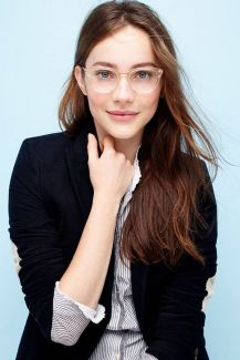Clear Glasses Frame For Women's Fashion Ideas #Transparent #Eyeglass (15)