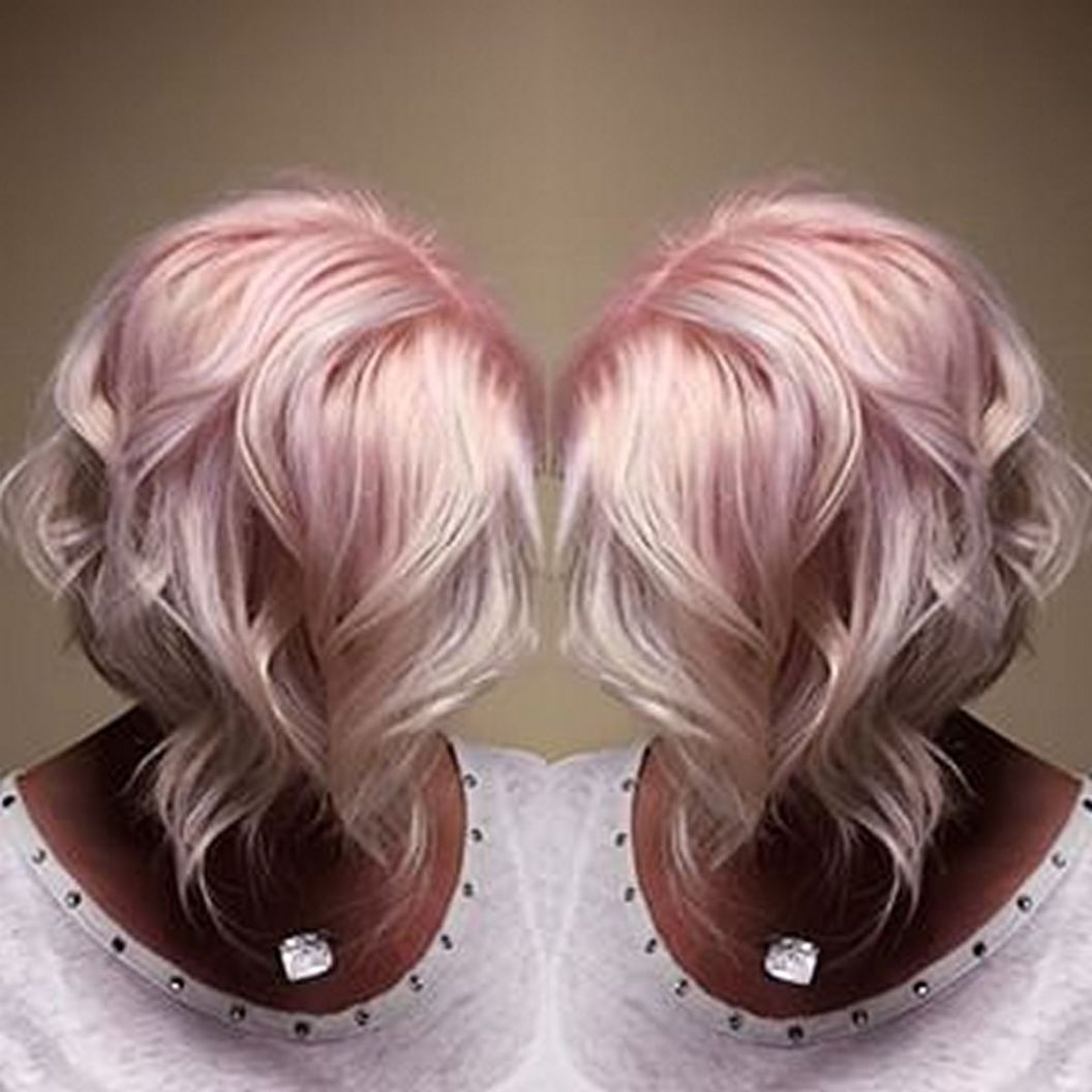 Colorful pink hairstyles (1)