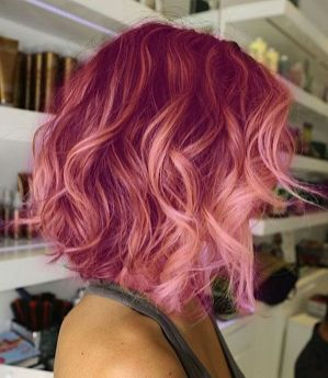 Colorful pink hairstyles (16)