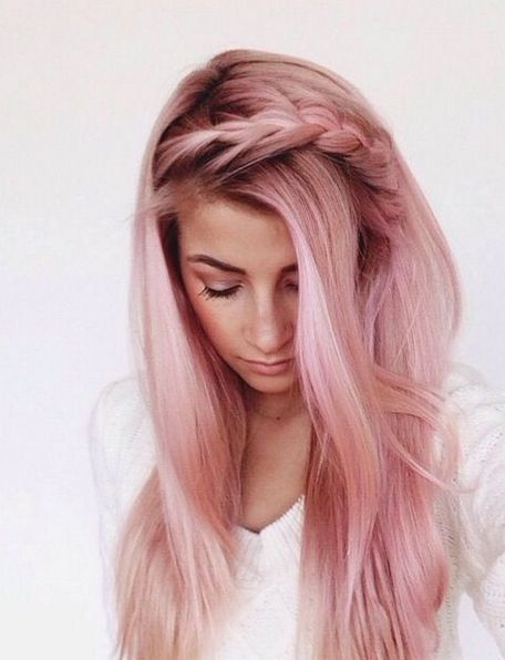 Colorful pink hairstyles (19)