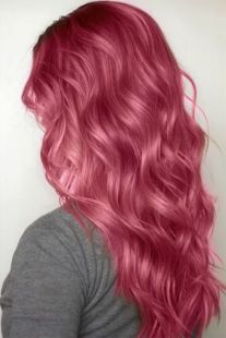 Colorful pink hairstyles (2)