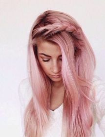 Colorful pink hairstyles (30)