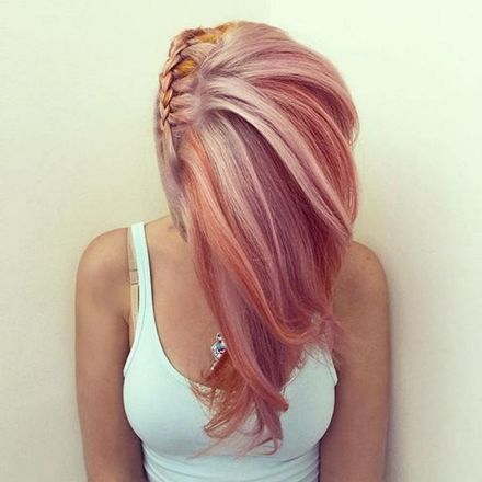 Colorful pink hairstyles (4)
