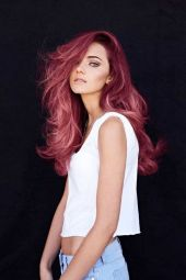 Colorful pink hairstyles (42)