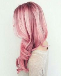 Colorful pink hairstyles (46)