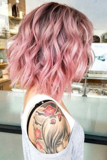Colorful pink hairstyles (8)