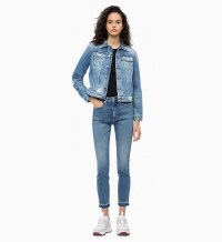Denim jacket for women street style ideas (12)