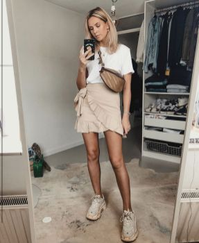 Uploaded By User Everythingstriped: Wrap Around Skirt Outfit #summerstyle #fashion #womansfashion #outfitideas