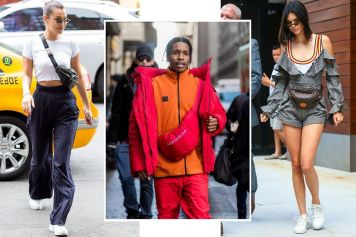#Fannypack #Back #HarpersBAZAAR.com One Of The Worst Trends Only To Get Worse. Men Wearing Them, In Front So It's #gut #back