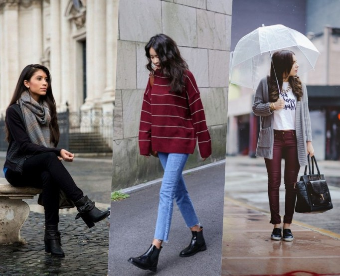 Featured rainy day cold weather outfit
