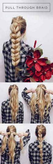 Hairstyles diy and tutorial for all hair lengths 017   fashion
