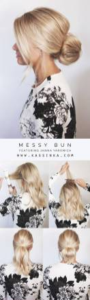 Hairstyles diy and tutorial for all hair lengths 023 | fashion