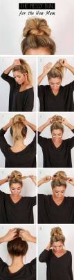 Hairstyles diy and tutorial for all hair lengths 026   fashion