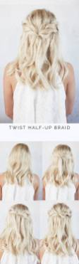 Hairstyles diy and tutorial for all hair lengths 028 | fashion