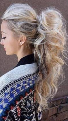 Hairstyles diy and tutorial for all hair lengths 037   fashion