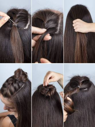 Hairstyles diy and tutorial for all hair lengths 044   fashion