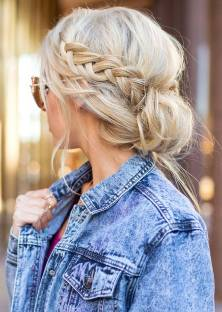Hairstyles diy and tutorial for all hair lengths 049 | fashion