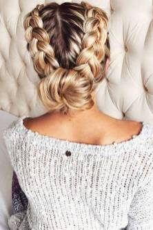 Hairstyles diy and tutorial for all hair lengths 051   fashion