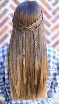 Hairstyles diy and tutorial for all hair lengths 063 | fashion
