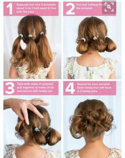 Hairstyles diy and tutorial for all hair lengths 146 | fashion