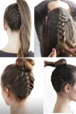 Hairstyles diy and tutorial for all hair lengths 156 | fashion