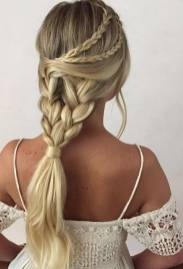 Hairstyles diy and tutorial for all hair lengths 175   fashion