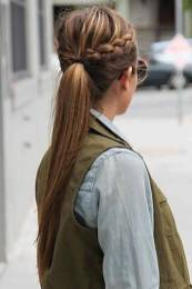 Hairstyles diy and tutorial for all hair lengths 185   fashion