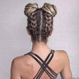 Hairstyles diy and tutorial for all hair lengths 198   fashion
