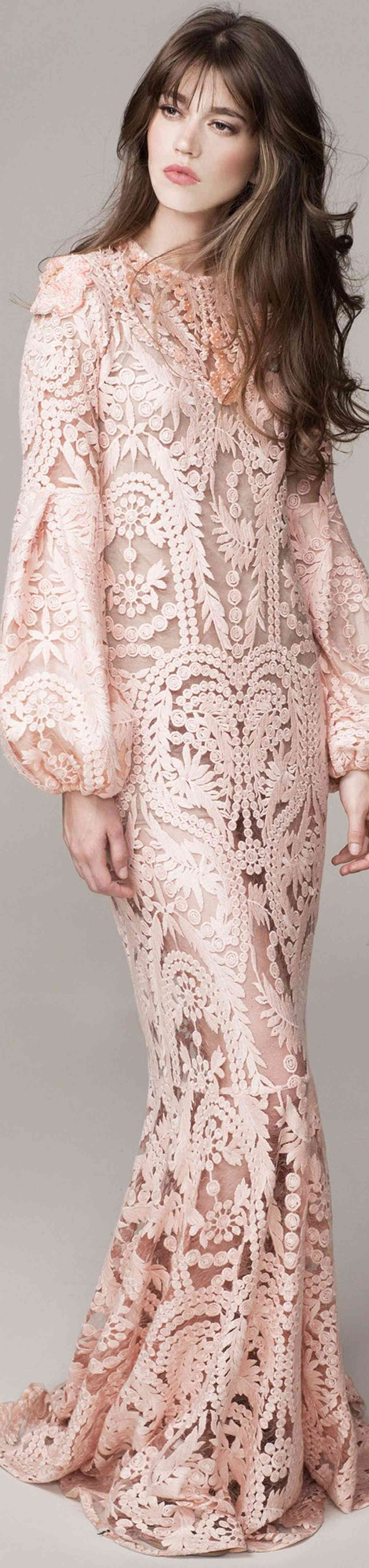 Pink sleeve dress idea for daily action 20 fashion