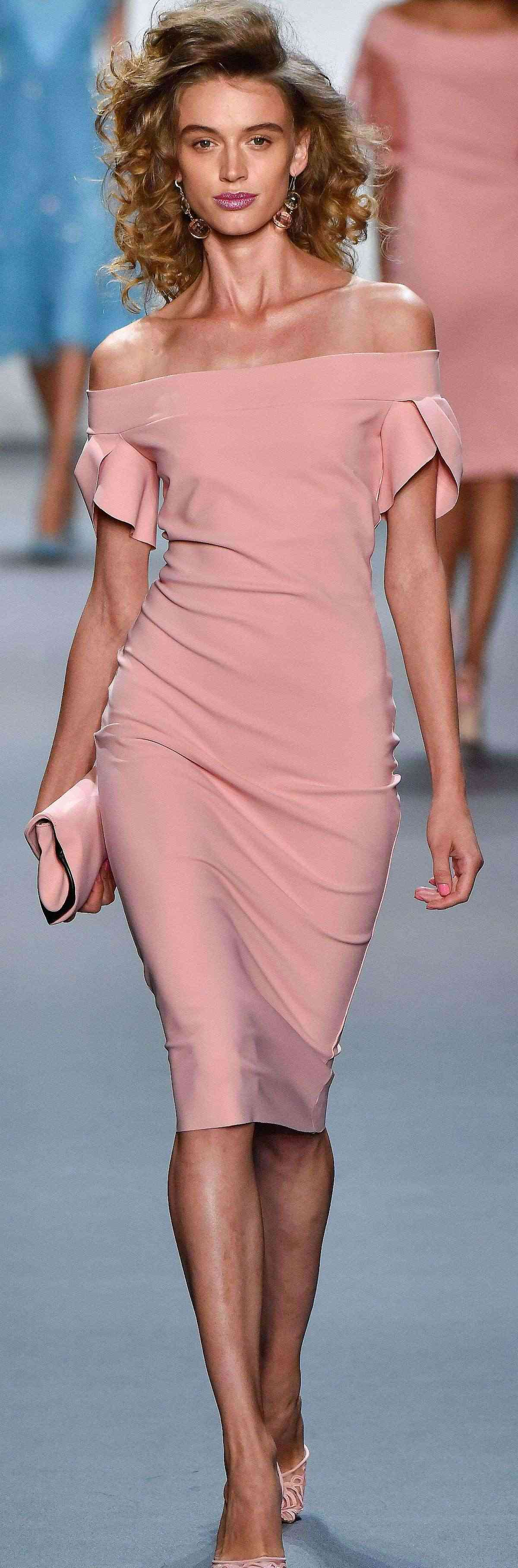 Pink sleeve dress idea for daily action 22 fashion