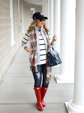 Rainy day cold weather outfit (22)