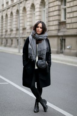 Rainy day cold weather outfit (29)