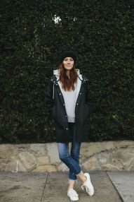 Rainy day cold weather outfit (35)
