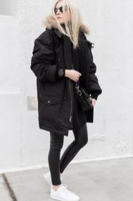 Rainy day cold weather outfit (37)