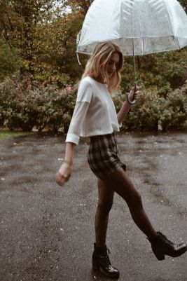 Rainy day cold weather outfit (38)