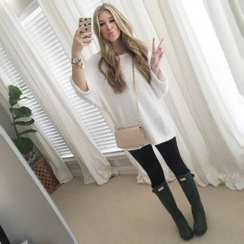 Rainy day cold weather outfit (53)