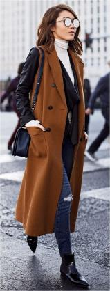 Rainy day cold weather outfit (59)