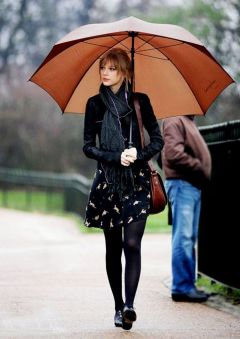 Rainy day cold weather outfit (9)