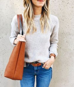 Sweaters outfit idea you should try this year (017)   fashion