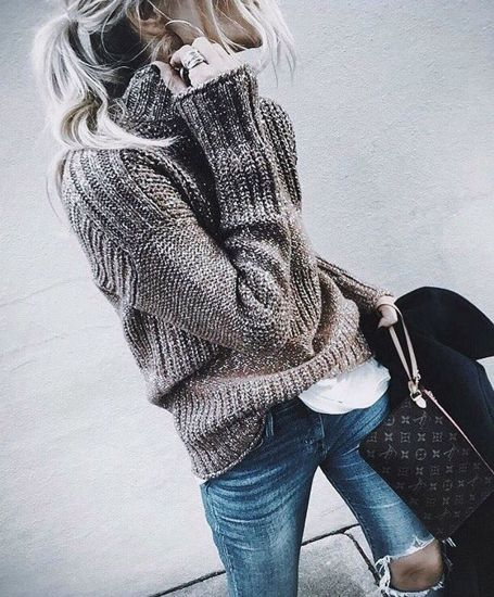 Sweaters outfit idea you should try this year (022)   fashion