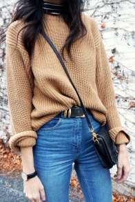 Sweaters outfit idea you should try this year (027) | fashion
