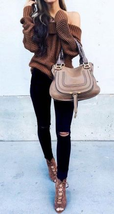 Sweaters outfit idea you should try this year (037) | fashion