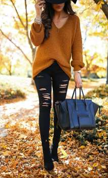 Sweaters outfit idea you should try this year (038)   fashion