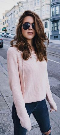Sweaters outfit idea you should try this year (040)   fashion