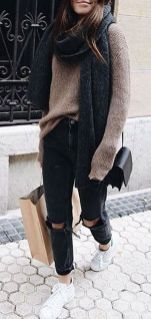 Sweaters outfit idea you should try this year (047) | fashion