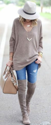 Sweaters outfit idea you should try this year (059) | fashion